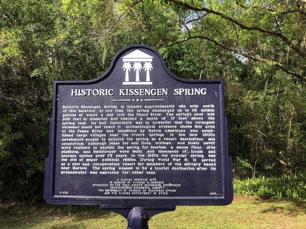 Historic Kissengen Spring: 2200 County Road 640, Bartow, FL