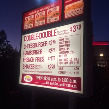 In-N-Out Burger - (New) 184 Photos & 257 Reviews - Burgers