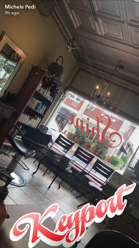 Shine Hair and Nail Salon: 90 Broad St, Keyport, NJ