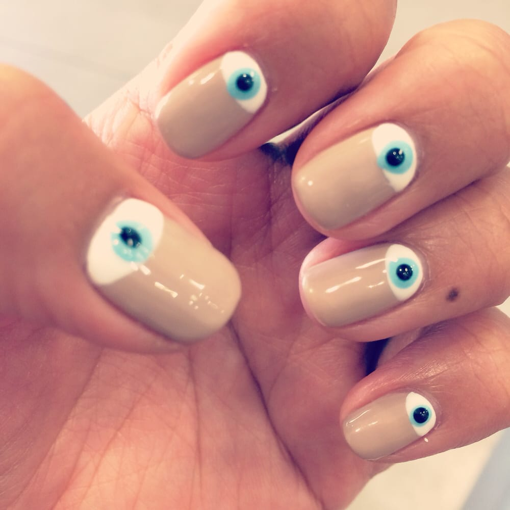 Evil eye nails by Sophoan! - Yelp