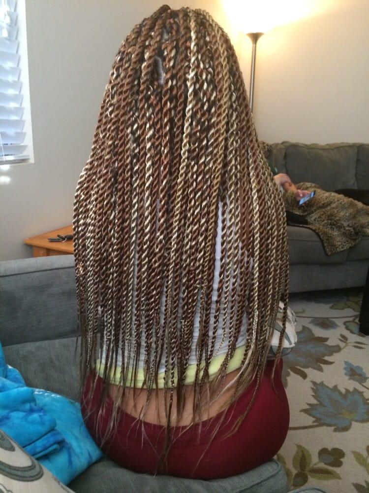 Blonde Senegalese Twists Yelp