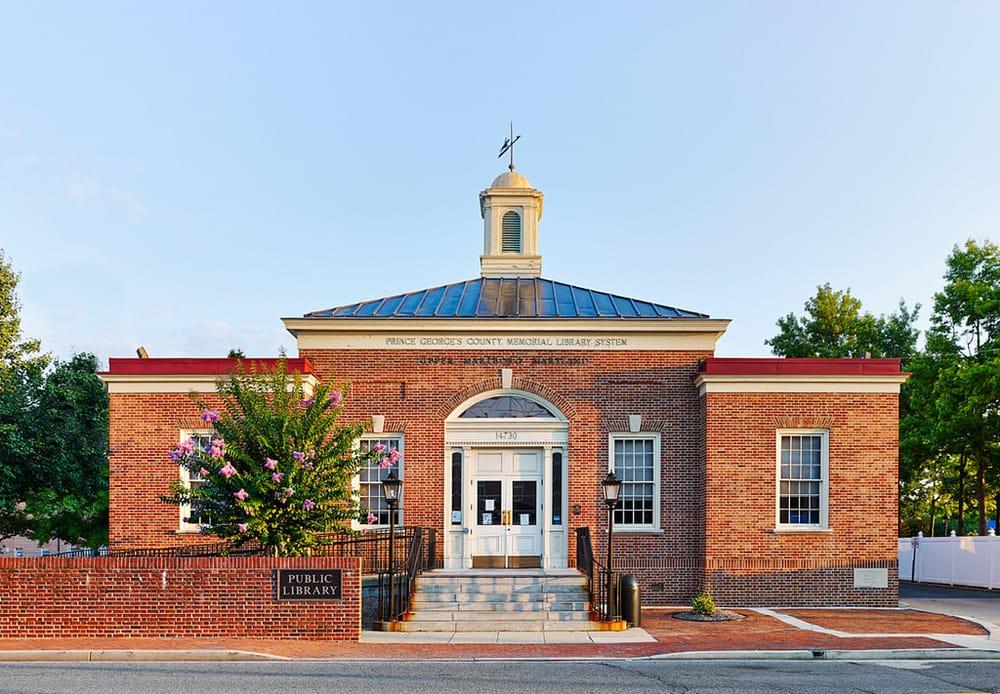 Upper Marlboro Branch Library: 14730 Main St, Upper Marlboro, MD