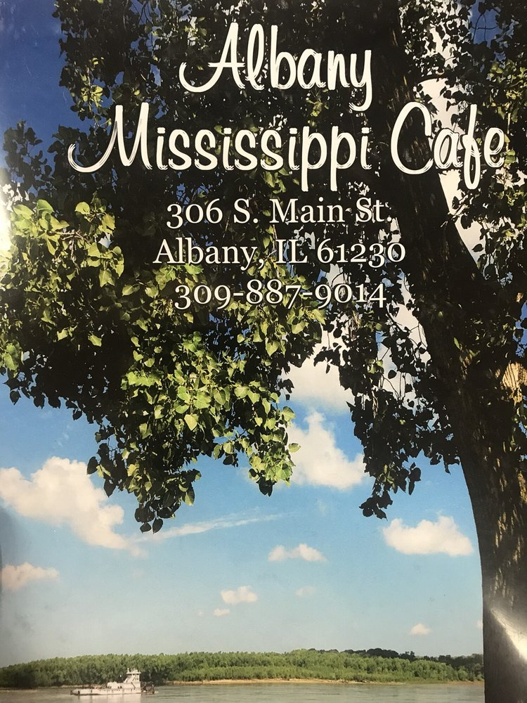 The Albany Mississippi Cafe: 306 S Main St, Albany, IL