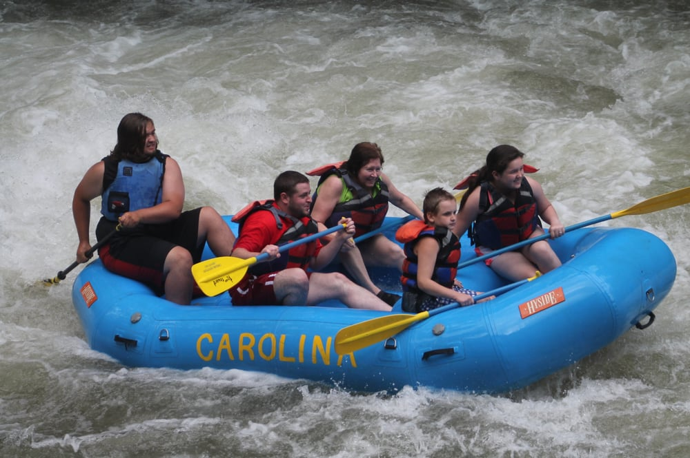 Carolina Outfitters Whitewater Rafting - 12 Reviews