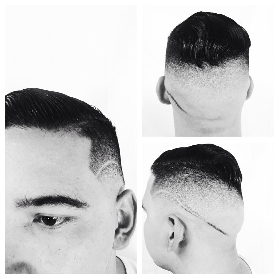 Haircut done by our barber luis yelp for Salon de leon