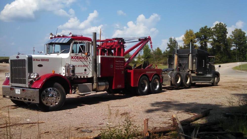 Koenigs Towing & Recovery: 75 Eureka St, Savannah, TN