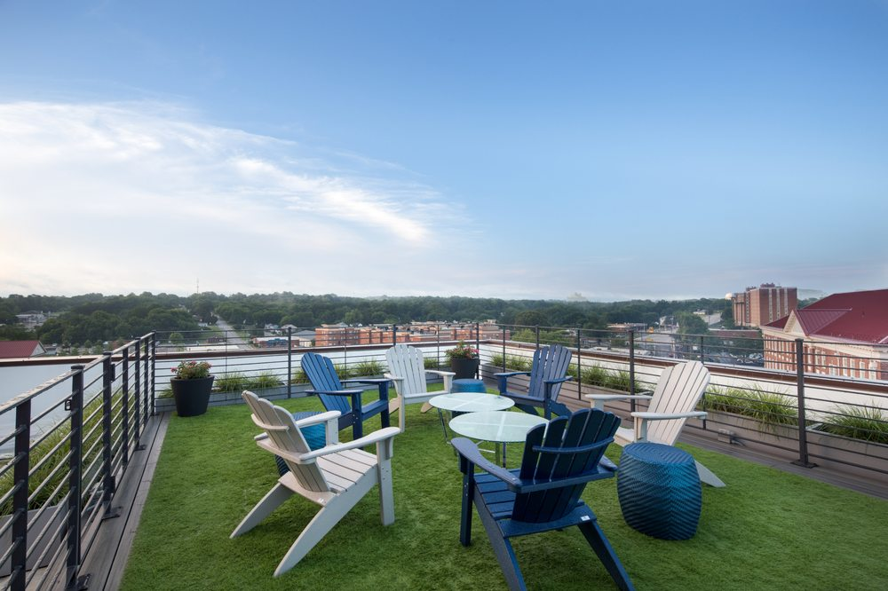 Catbird Rooftop Terrace: 202 High St, Farmville, VA