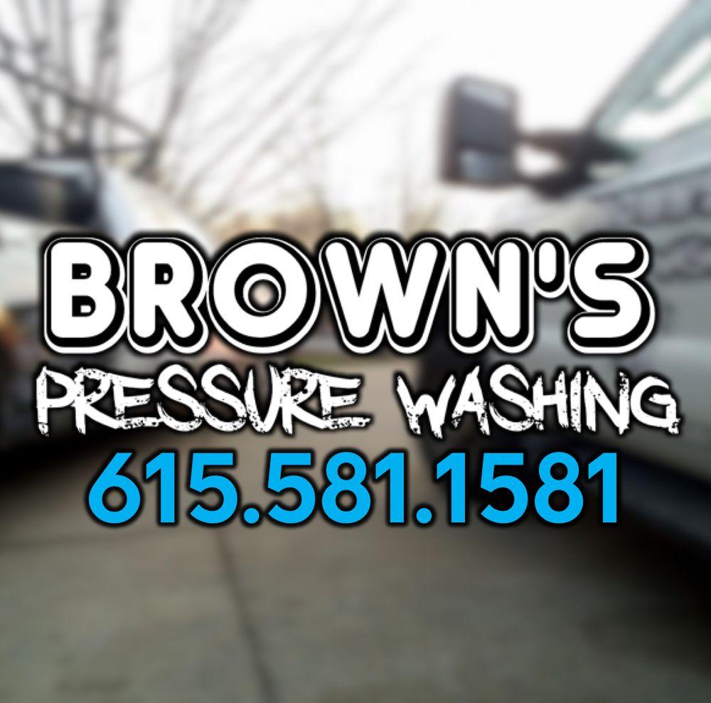 Brown's Pressure Washing: Goodlettsville, TN