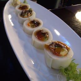 Sakana Japanese Restaurant - Nanuet, NY, United States. Eel Naruto roll