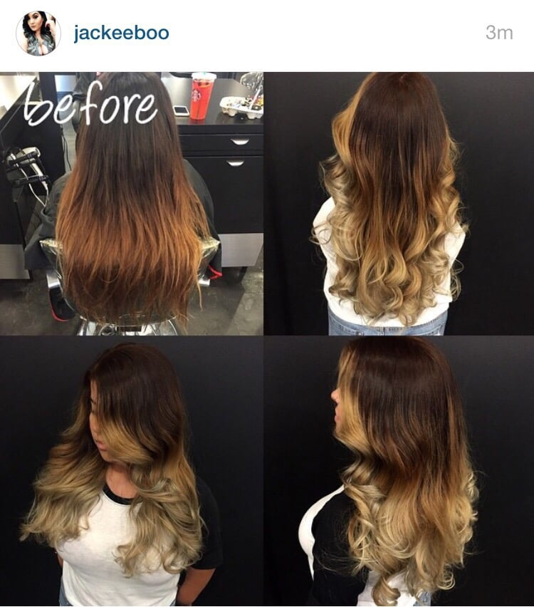 Done by jackie u yelp for Academy for salon professionals yelp