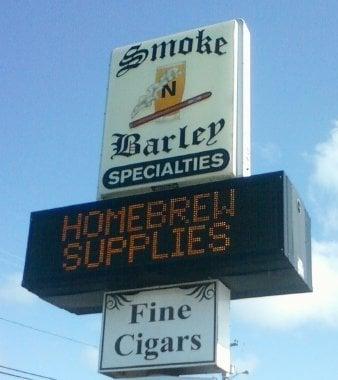 Smoke N Barley: 485 Laconia Rd, Tilton, NH