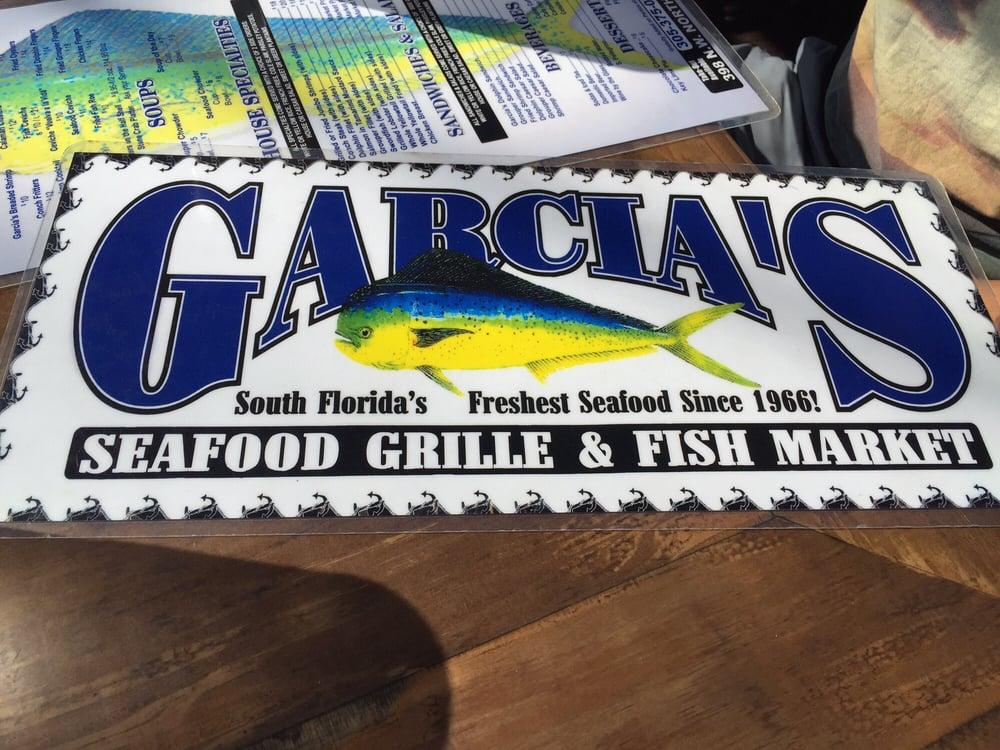 Menus yelp for Garcia s seafood grille fish market miami fl