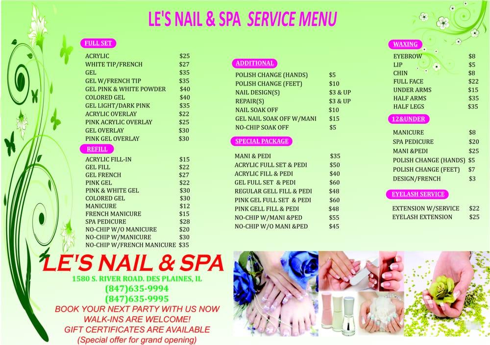 Le S Nail And Spa 32 Photos Amp 39 Reviews Nail Salons