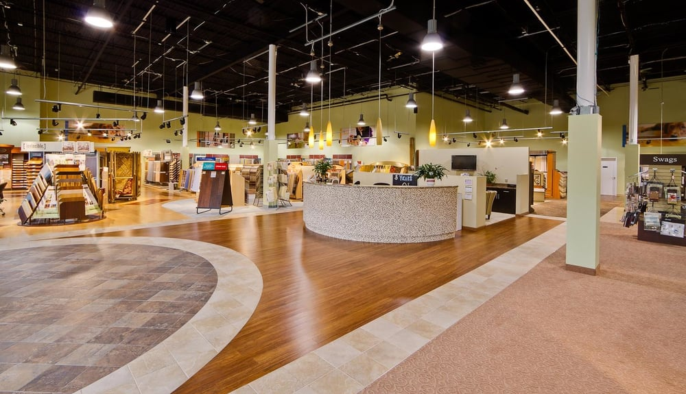 Welcome we designed our showroom in columbia md just for for Flooring contractor columbia md