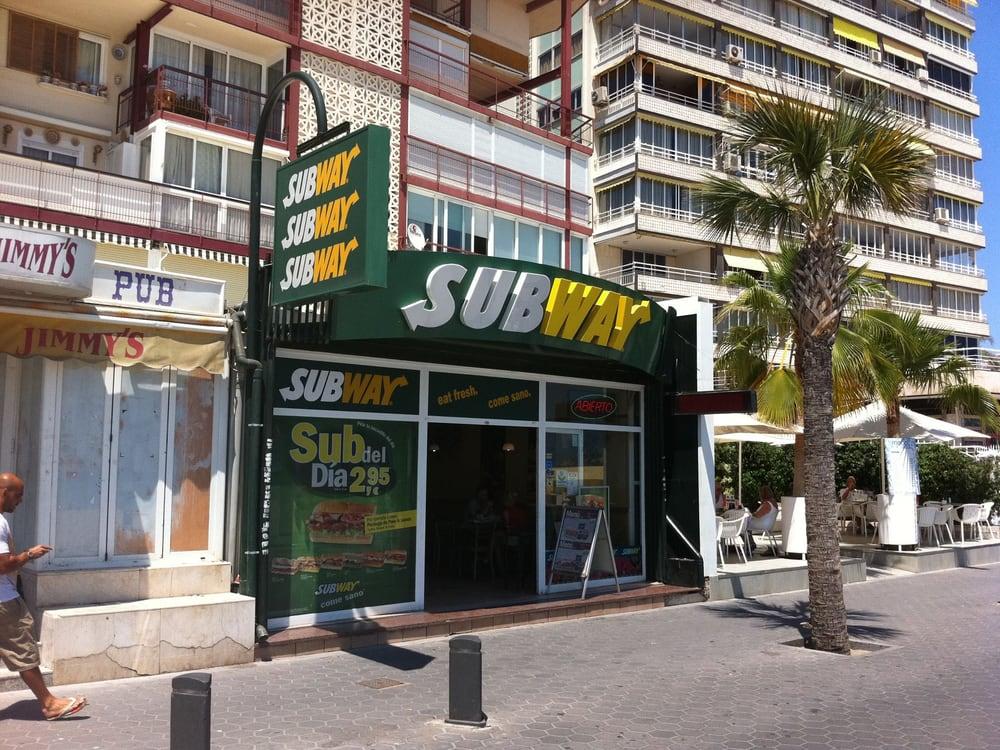 Subway: Avenida Alcoy 6, Benidorm, A