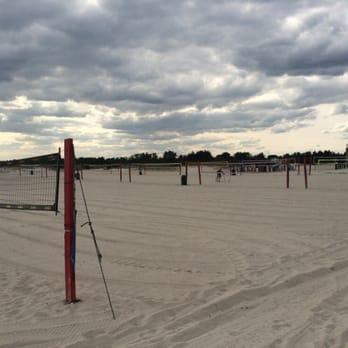 Cedar Beach Long Island Volleyball
