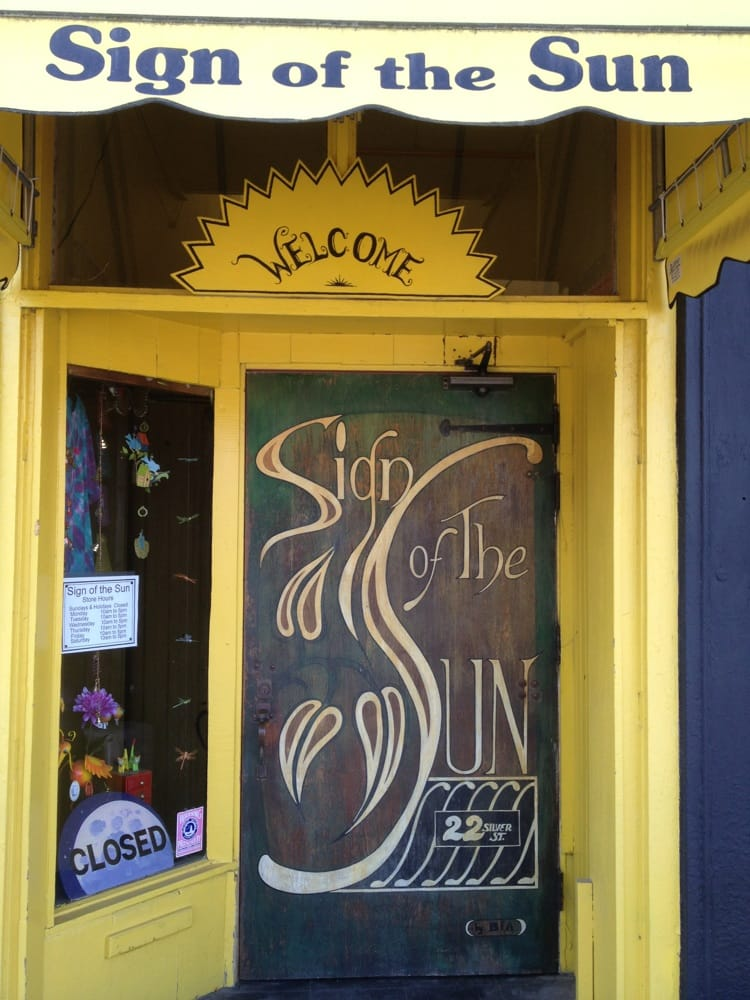 Sign of the Sun: 22 Silver St, Waterville, ME