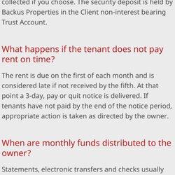 Backus Properties - 27 Reviews - Property Management - 19000 Portola