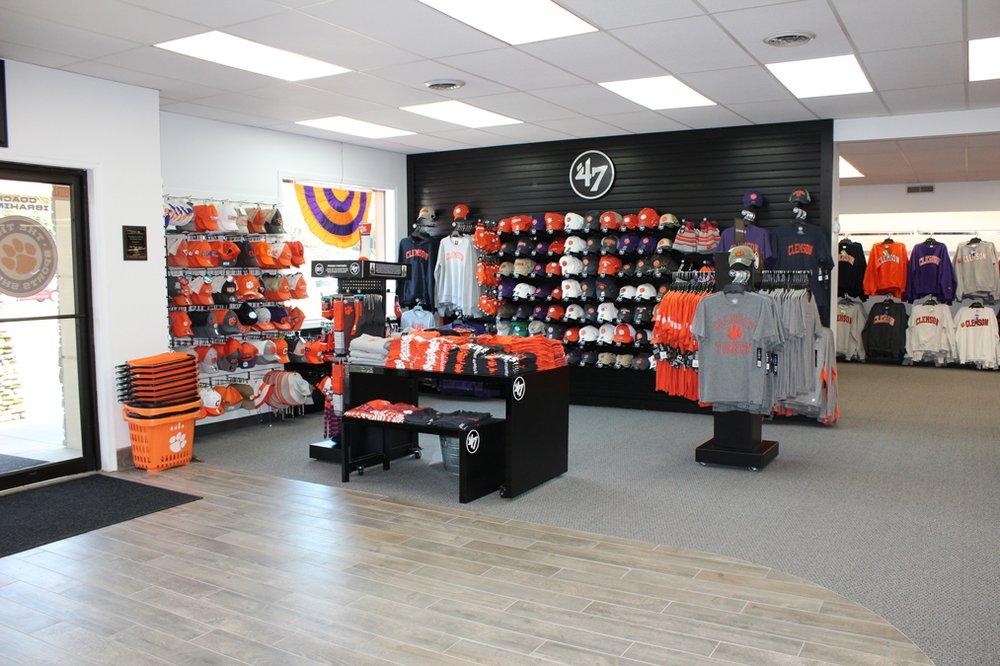 Tiger Sports Shop: 1102 Tiger Blvd, Clemson, SC