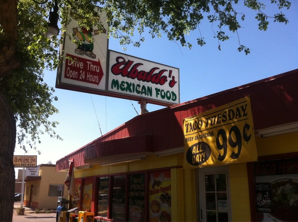 Ubaldo's Taco Shop: 314 E Western Ave, Avondale, AZ
