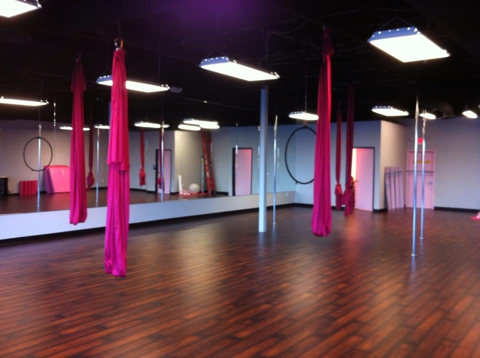 photo of polecats aerial fitness   las vegas nv united states  our studio our studio offers aerial hammock yoga aerial silks lyra  aerial      rh   yelp