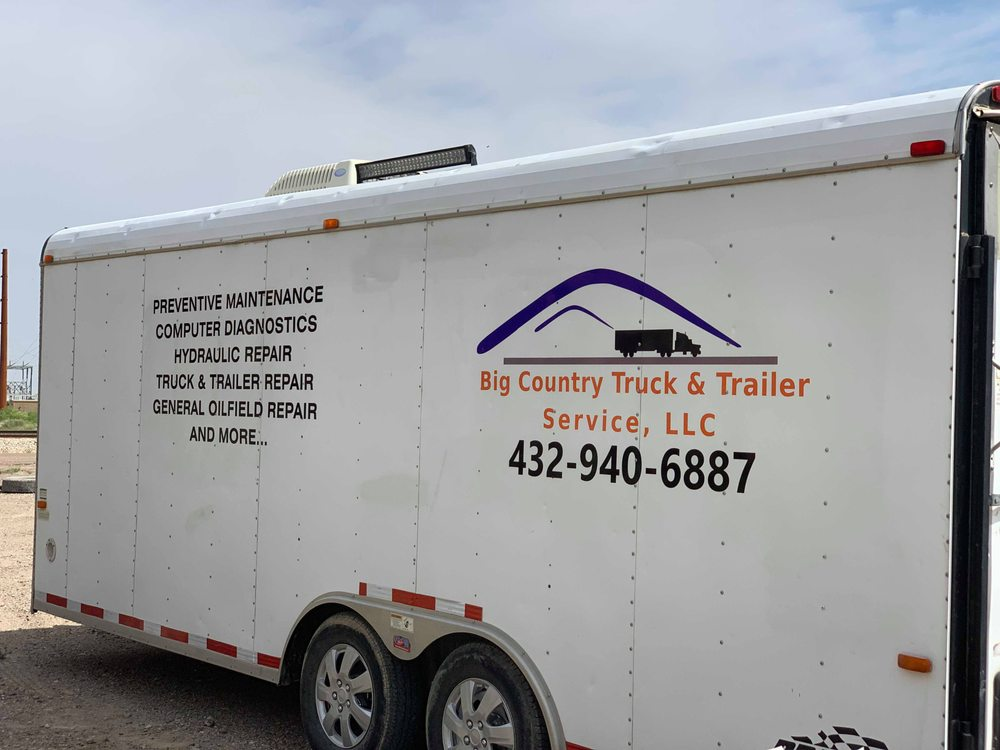 Big Country Truck & Trailer Service: 1173 County Rd 413, Pecos, TX
