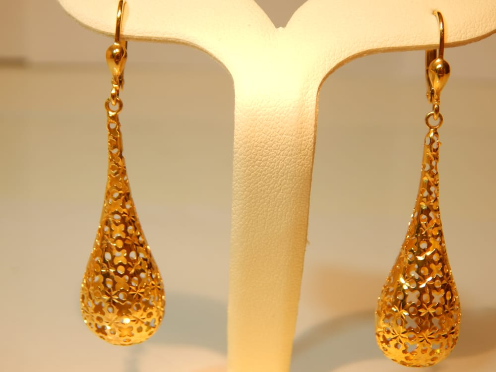 21 karat gold earrings yelp
