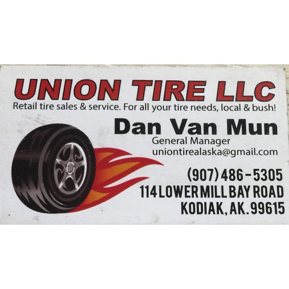 Union Tire: 114 Lower Mill Bay Rd, Kodiak, AK