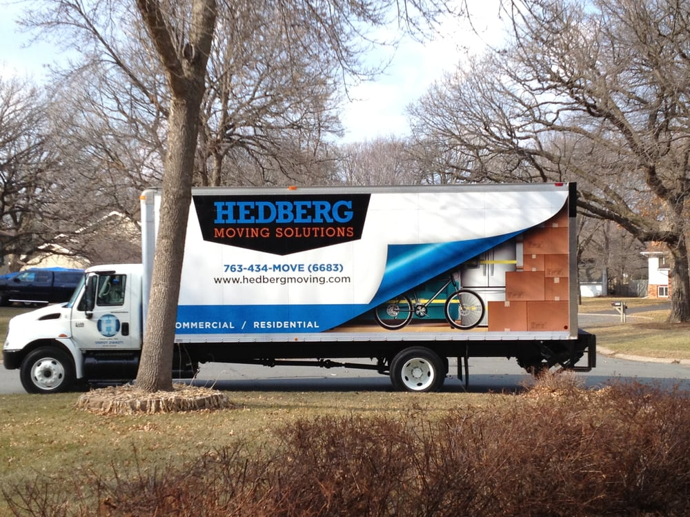Hedberg Moving Solutions: 10351 Jamestown St, Blaine, MN