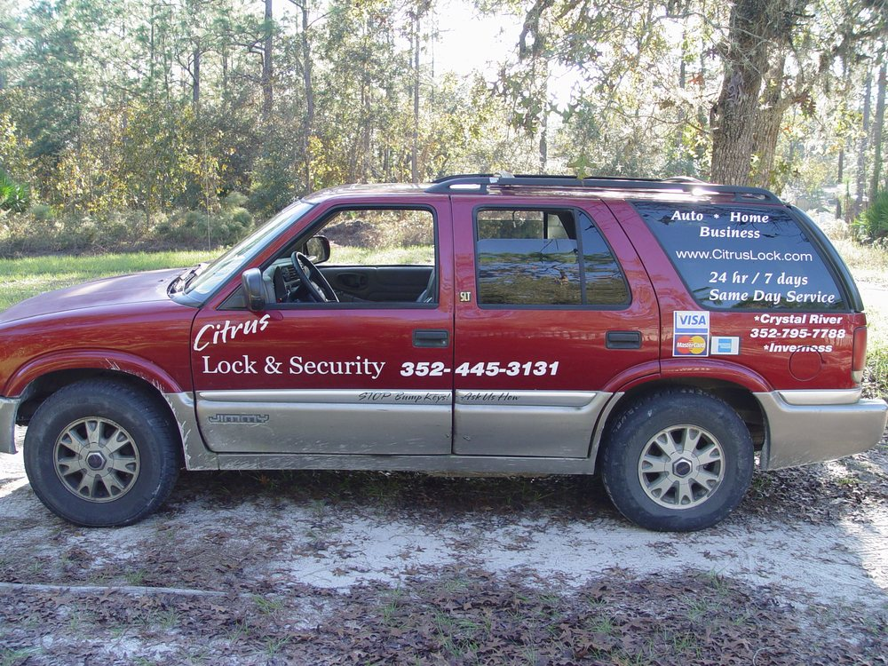 Citrus Lock & Security: 6715 W Mable Ln, Dunnellon, FL