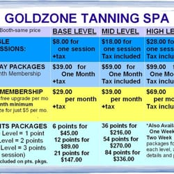 Goldzone tanning spa closed 11 reviews tanning - Tanning salons prices ...