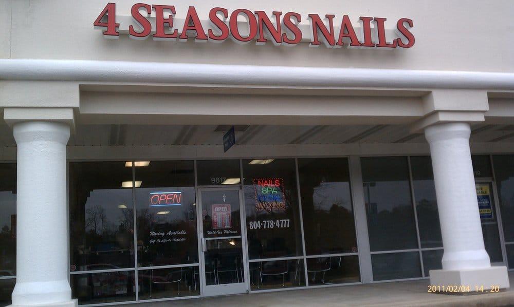 Four Seasons Nail: 9817 Chester Rd, Chester, VA