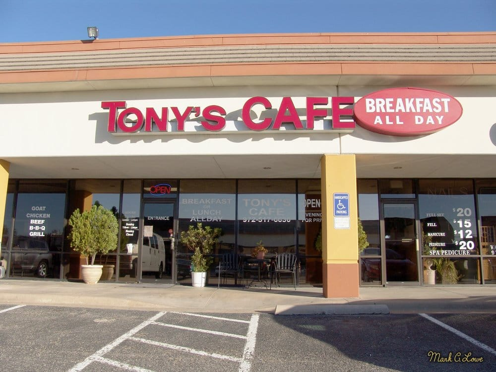 Tony s cafe order online 57 photos 151 reviews for Plano restaurante