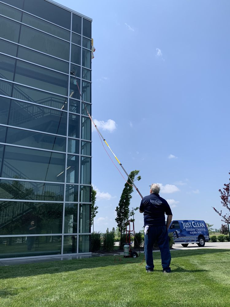 Just Clean Window Cleaning: Collinsville, IL