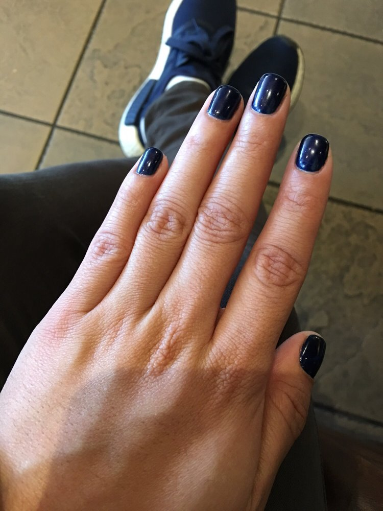 No Chip, Color: Russian Navy Opi Gel Polish! I LOVE LOVE! Done By ...