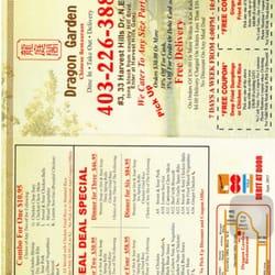 Dragon Garden Restaurant Chinese 33 Harvest Hills Drive Ne Calgary Ab Restaurant Reviews