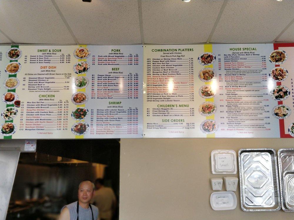 New Dragon Chinese Restaurant: 545 S State St, Sparta, MI