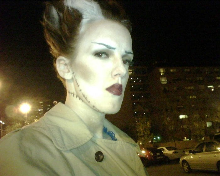 photo of ann marie makeup chicago il united states bride of frankenstein