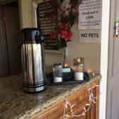 Photo of Akua Motor Inn - Anaheim, CA, United States. Free coffee from