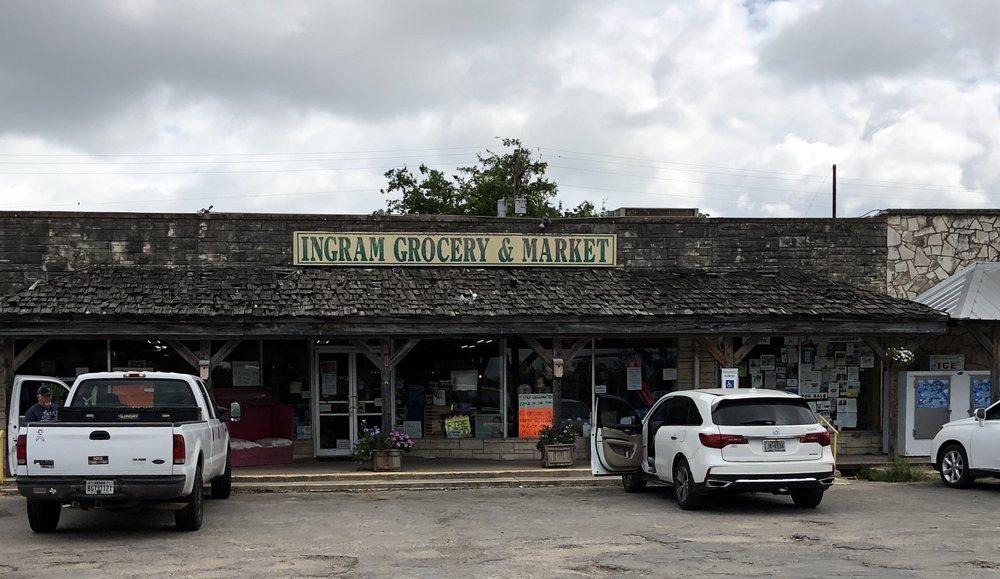 Ole Ingram Grocery: 3298 Junction Hwy, Ingram, TX