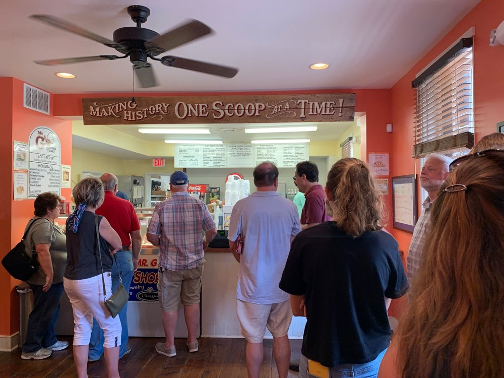 Mr G's Old Fashioned Ice Cream: 404 Baltimore St, Gettysburg, PA