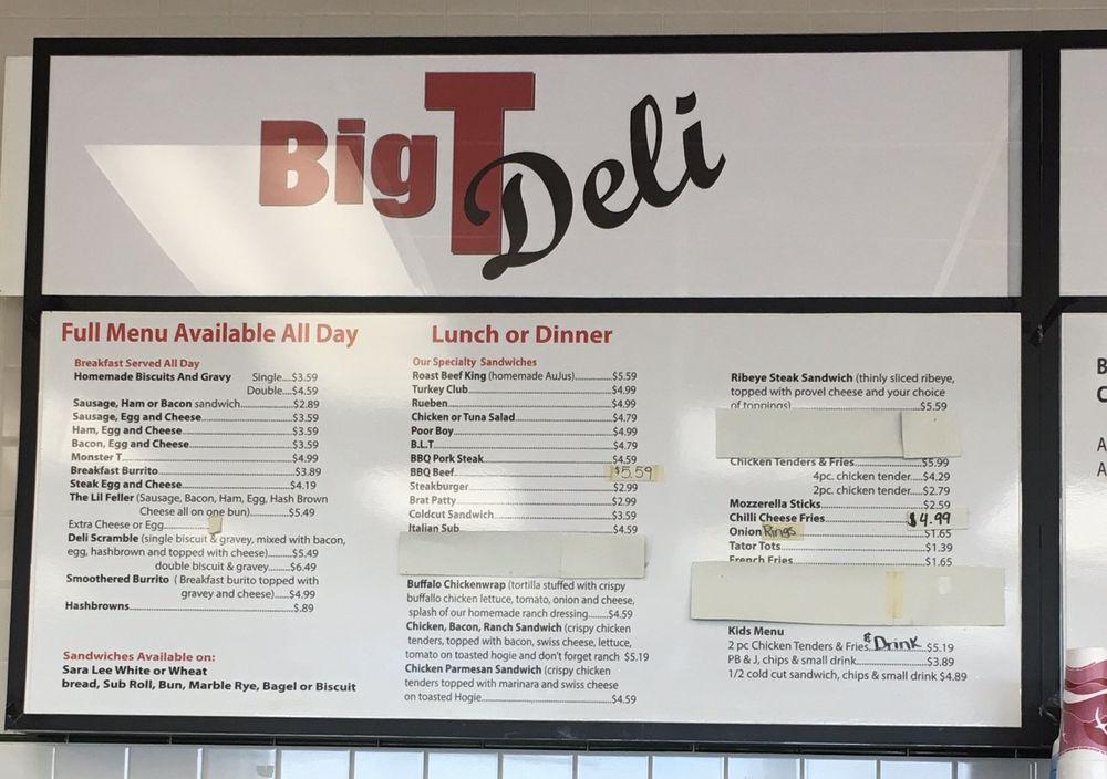 Big T Deli: 2116 Hwy C, Old Monroe, MO