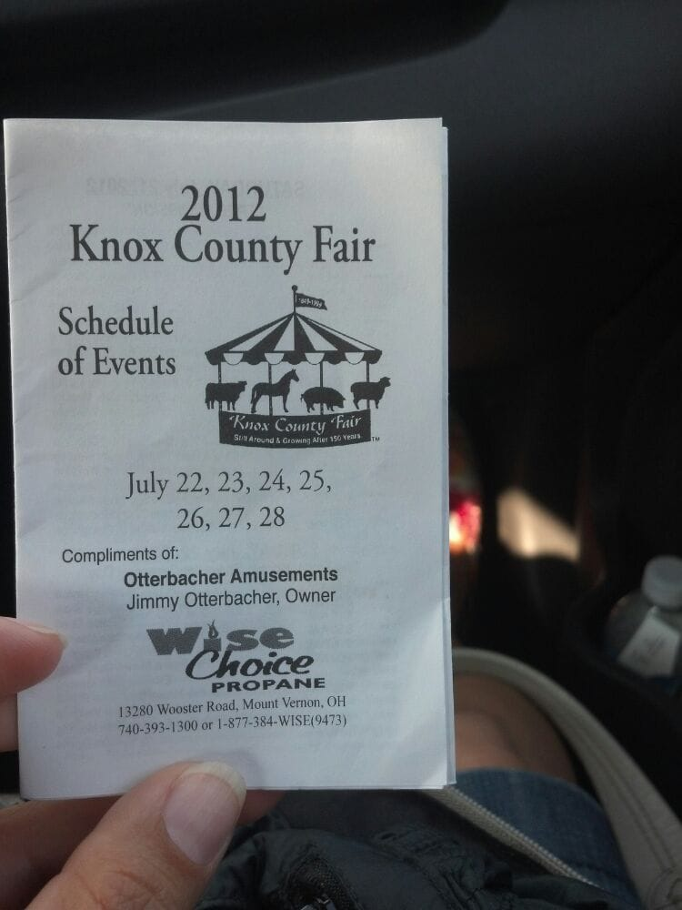 Social Spots from Knox County Fair