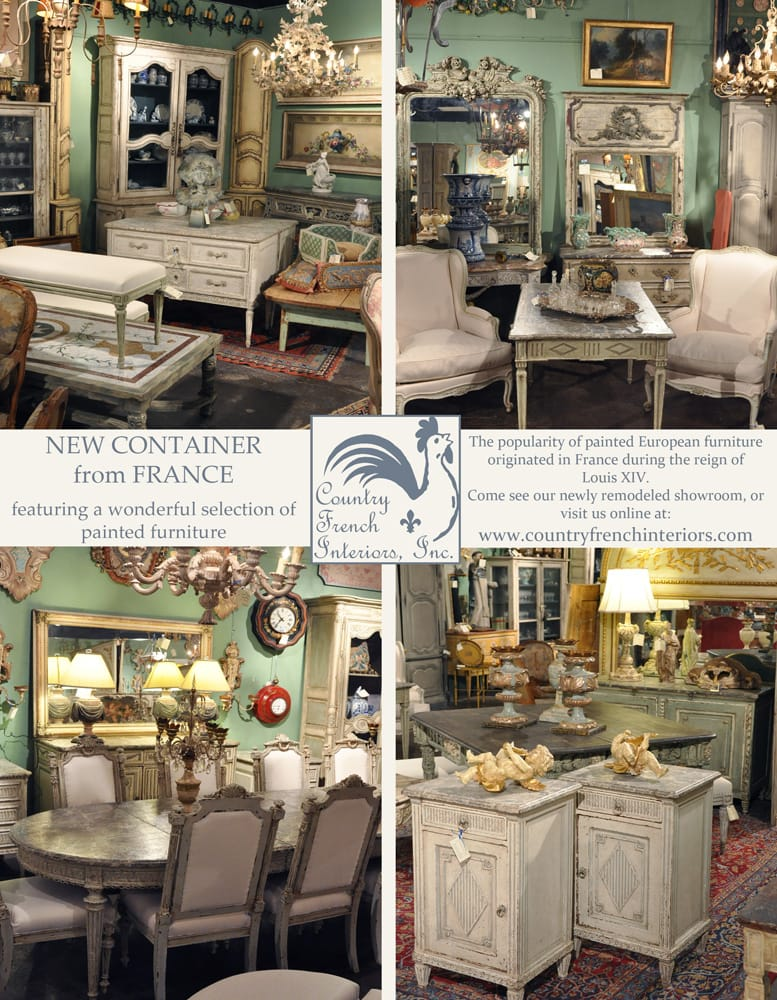 Country French Interiors Inc Antiques 1428 Slocum St Design District Dallas Tx United