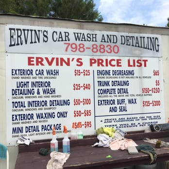 ervin s carwash servicing detailing 10452 lewistown rd ashland va united states phone. Black Bedroom Furniture Sets. Home Design Ideas