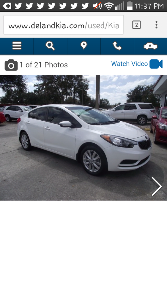 Deland Kia 33 Reviews Car Dealers 2322 S Woodland Blvd Fl Phone Number Yelp