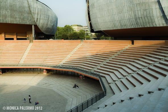 Il palco all 39 aperto dell 39 auditorium yelp for Planimetrie dell interno della casa all aperto
