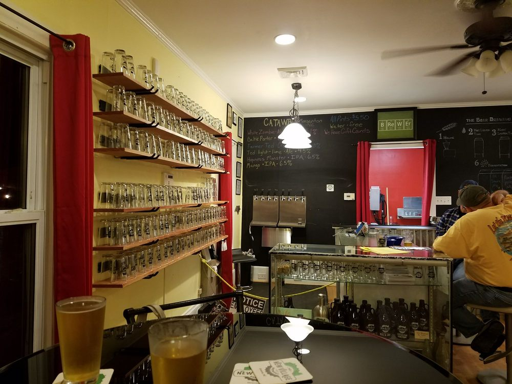 The New Village Brewery & Taproom: 702 Broad St, Oriental, NC