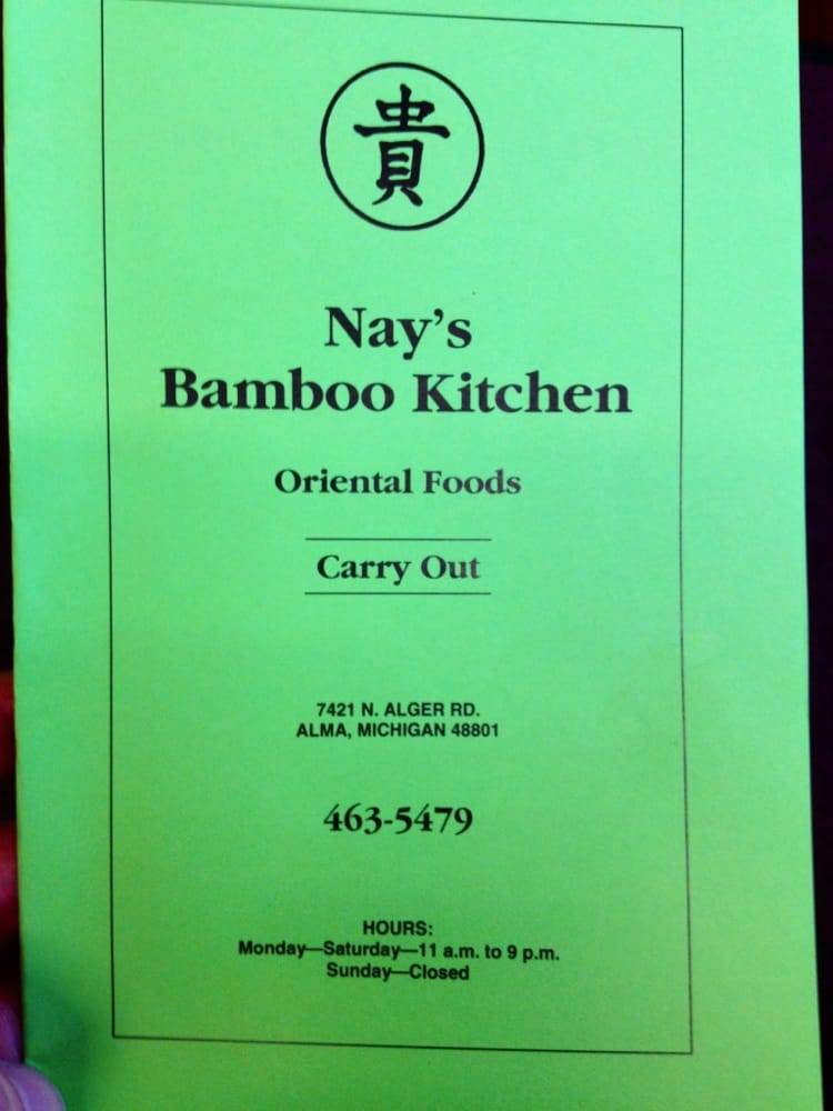 Photo of Nay's Bamboo Kitchen: Alma, MI