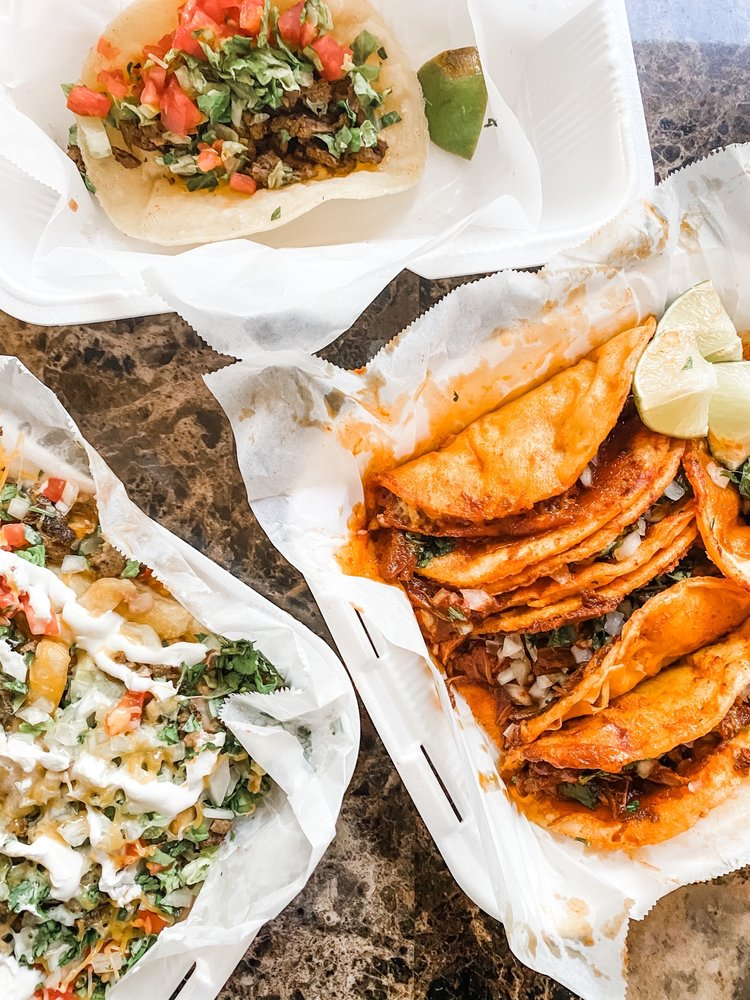 Food from The Taco Spot